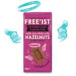 Freeist core product-Milk Choc Nut 75g