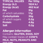 Freeist-product-nutrition-Cookies Choc Chip