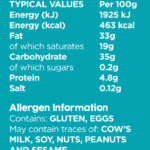 Freeist-product-nutrition-Cookies Coconut